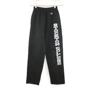 Stockton College Fleece Sweat Pants S Track Blue